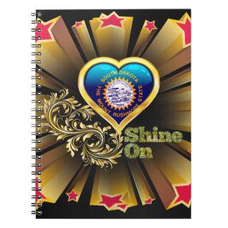 Shine On South Dakota Spiral Notebooks