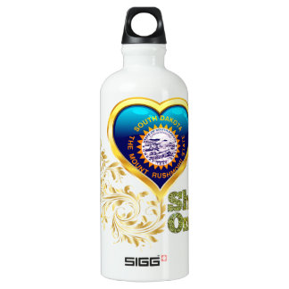 Shine On South Dakota Water Bottle
