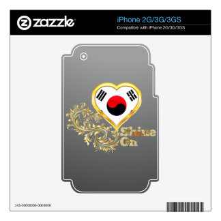 Shine On South Korea Decals For The iPhone 3GS
