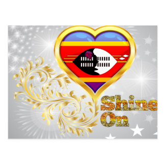 Shine On Swaziland Postcard