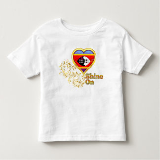 Shine On Swaziland Toddler T-shirt