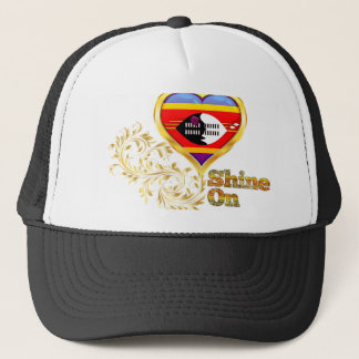 Shine On Swaziland Trucker Hat
