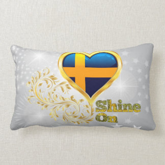 Shine On Sweden Lumbar Pillow