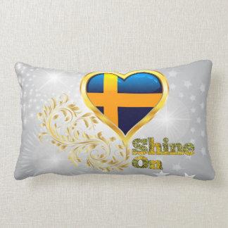 Shine On Sweden Lumbar Pillow