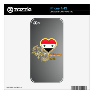 Shine On Syria iPhone 4S Skins