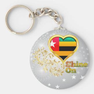 Shine On Togo Keychain