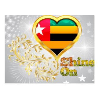 Shine On Togo Postcard