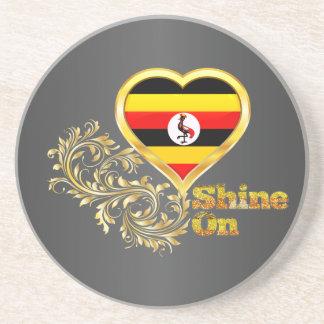 Shine On Uganda Drink Coasters