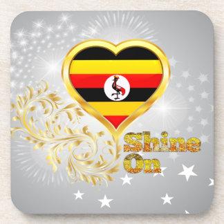 Shine On Uganda Drink Coaster