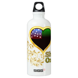 Shine On Vermont Republic Aluminum Water Bottle