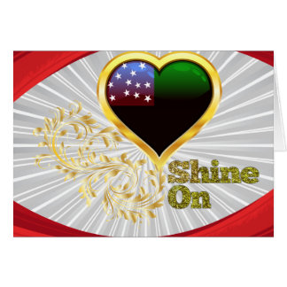 Shine On Vermont Republic Card