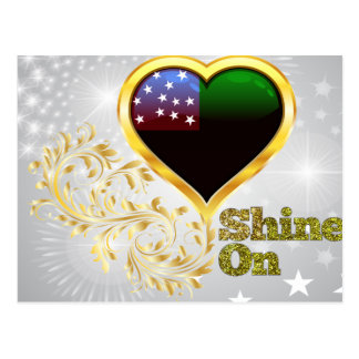 Shine On Vermont Republic Postcard