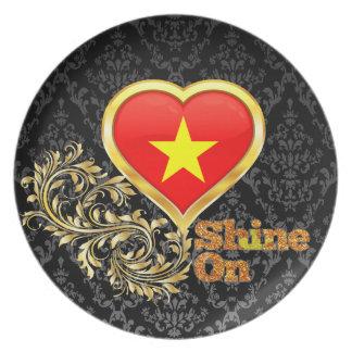 Shine On Vietnam Plates