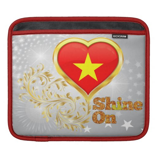 Shine On Vietnam Sleeves For iPads