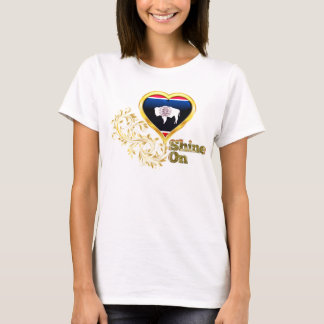 Shine On Wyoming T-Shirt