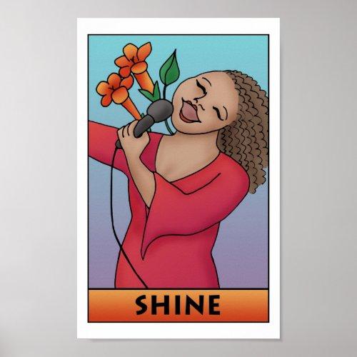 Shine Print print