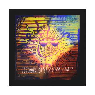 Shine So Bright Gallery Wrap Canvas
