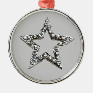Shine star christmas ornaments