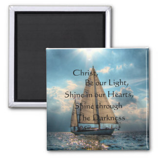 Shine Through the Darkness Magnet