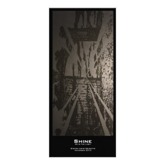 """Shine"" Value Bookmarks Rack Card"