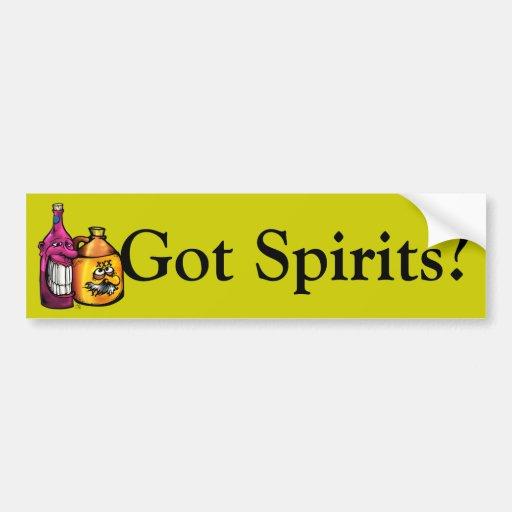 Shine, Wino, Got Spirits? Bumper Stickers