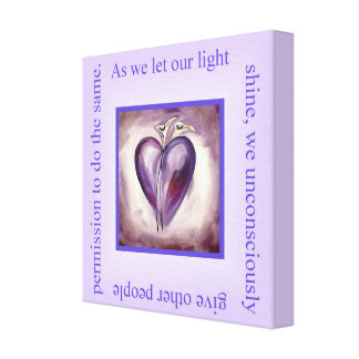 Shine Your Light Gallery Wrap Canvas