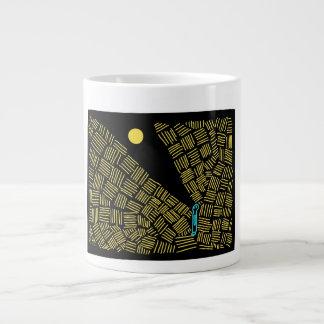 Shine your light large coffee mug
