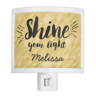Shine your light Nightlight