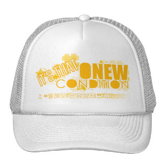 SHINEE HAT onew condition