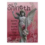 Shineth Postcard