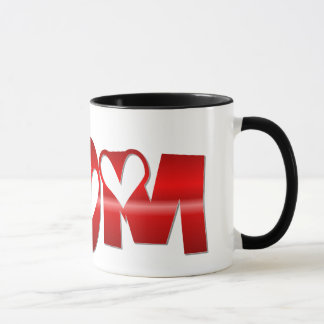 Shiney Mom with Hearts Mug
