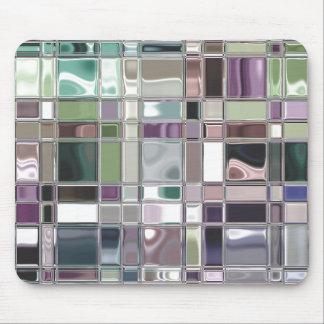 Shiney Mosaic Art Mouse Pad