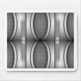 SHINEY SILVER SPEAKERS MOUSE PAD