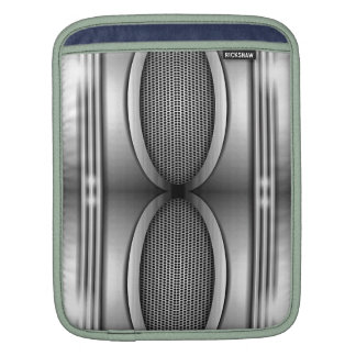 SHINEY SILVER SPEAKERS SLEEVE FOR iPads