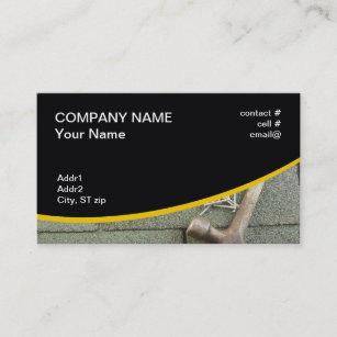 Asphalt business cards zazzle shingle roof business card colourmoves