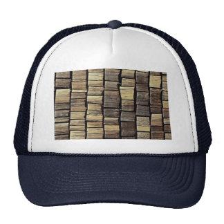 Shingle tiles pattern trucker hats