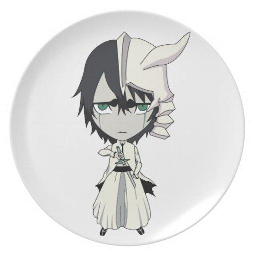 shinigami del chibi plato de cena