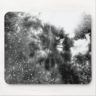 Shining Above In Black Mouse Pad