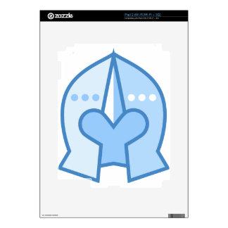 Shining Armor Helmet Decal For iPad 2