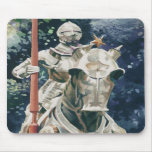 """""""Shining Armor"""" Knight Watercolor Mouse Mats"""