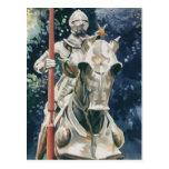 """Shining Armor"" Knight Watercolor Postcards"