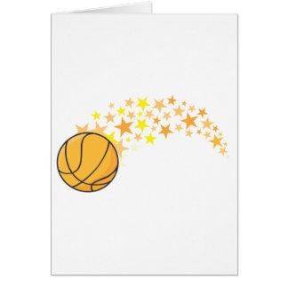 Shining Basketball Star Card