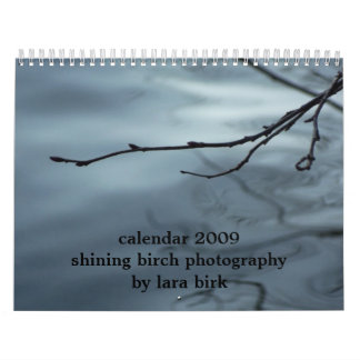 shining birch photography by lara birk calendar
