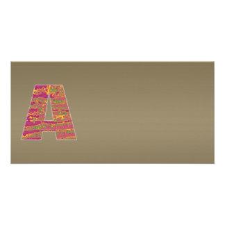 Shining Copper Mettallic Shade  n Art101 Graphic Card
