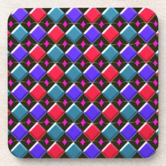 Shining Diamonds You Create Cork Coaster