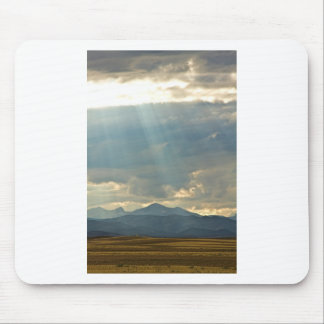 Shining Down Mouse Pad