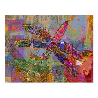 Shining Dragonfly Postcard