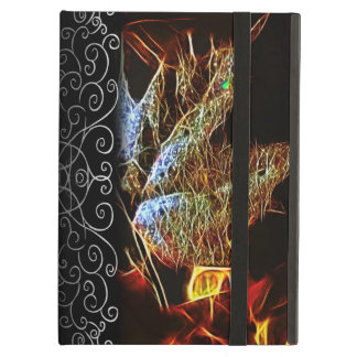 Shining Fall Leaf Abstract Case For iPad Air