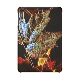 Shining Fall Leaf Abstract iPad Mini Case
