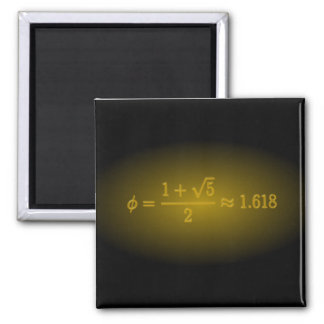Shining Golden Ratio Magnet